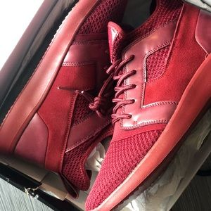 GUESS NWT Red Men's Sneakers
